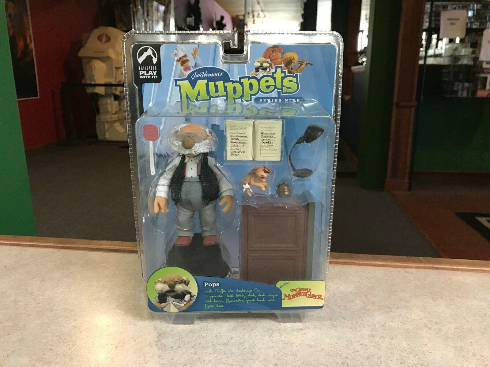 2003 Palisades Muppet Show Series 9 Nine POPS Figure MOC