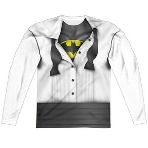 size 40 sold worldwide factory Details about I'm Batman Bruce Wayne Tuxedo Costume Outfit Uniform Allover  Long Sleeve T-shirt