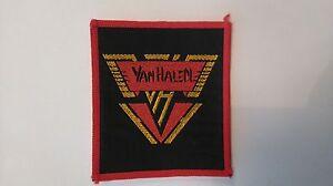 Van-Halen-logo-vintage-group-music-patch-Sew-On-metal-hardrock