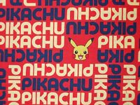 Pokemon Pikachu Red Yellow Blue Quilting Fabric Robert Kaufman Fq, By The Yard