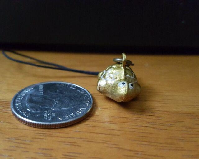 Sakura Petite Kaleidoscope Netsuke Cell Phone Strap Charm Bell Gold For Sale Online Ebay