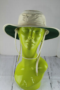 Tilley-Airflo-Sun-Hat-Natural-Ivory-Color-Mesh-Ventilation-Floats-Size-M-Unused