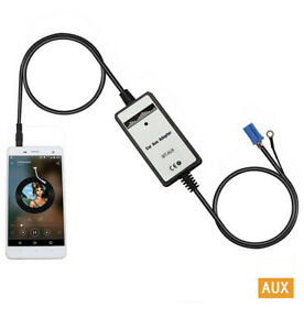 Aux-Auxillary-Car-Mp3-Player-Audio-Input-Adapter-3-5mm-Interface-New