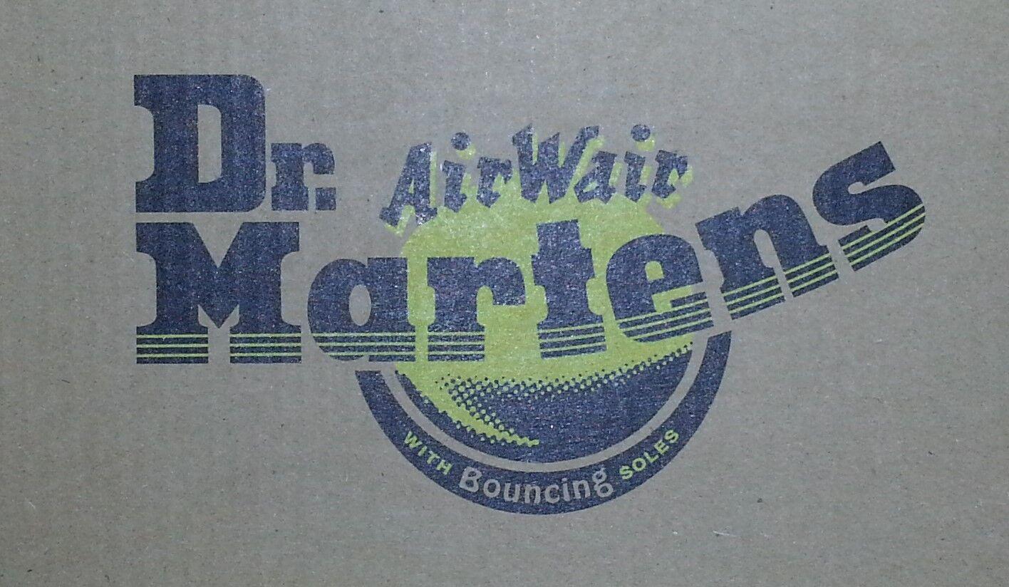 Dr Martens 1461PW Navy blu marin AirWair 10078410 SMOOTH 3-Loch 3-Loch SMOOTH UK 9,5 EU 44 e515b1