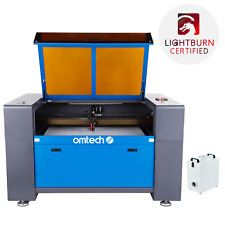 Omtech 100w Co2 Laser Engraver Cutter Etcher 24x40 Inch Bed With Fume Extractor