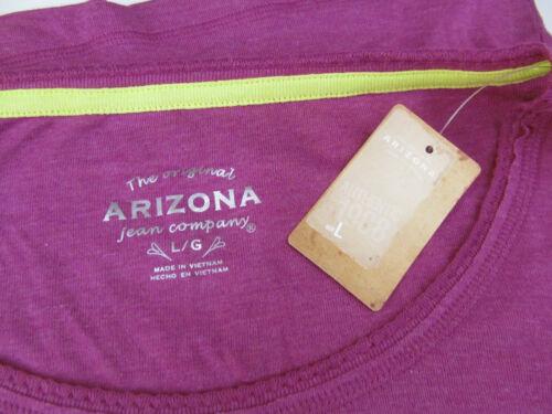 Arizona Jean Co New with Tags Purple Wine Long Sleeve Top