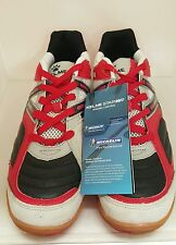 Kelme Star 360 Michelin Mens Leather Indoor Soccer Shoes Size 8.5