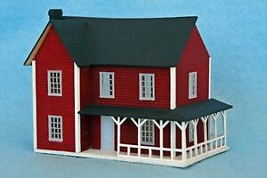 1 144 Scale Dollshouse Kit 39 The Farmhouse 39 Dollhouse For A
