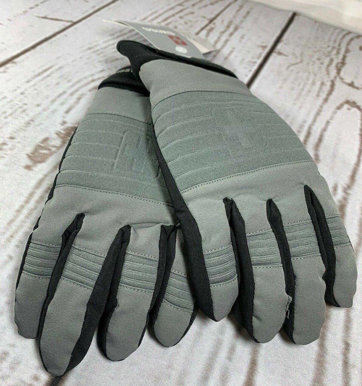 Swiss Tech 3M Insulated Boys Black Winter Ski Gloves Large Waterproof