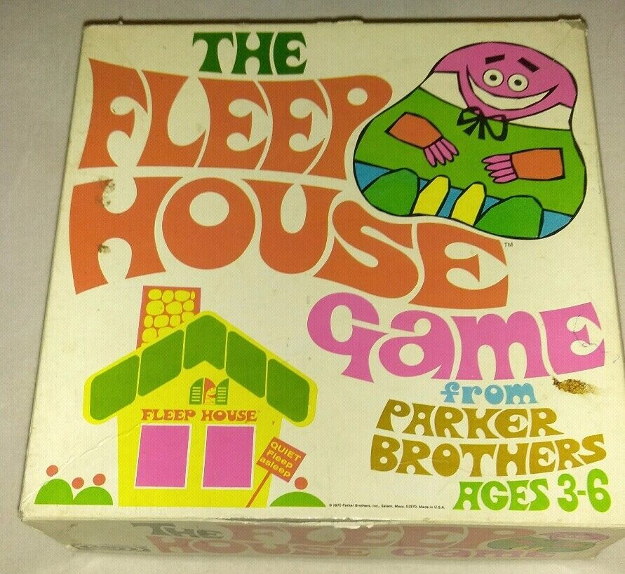 The Fleep House Game from Parker Brothers