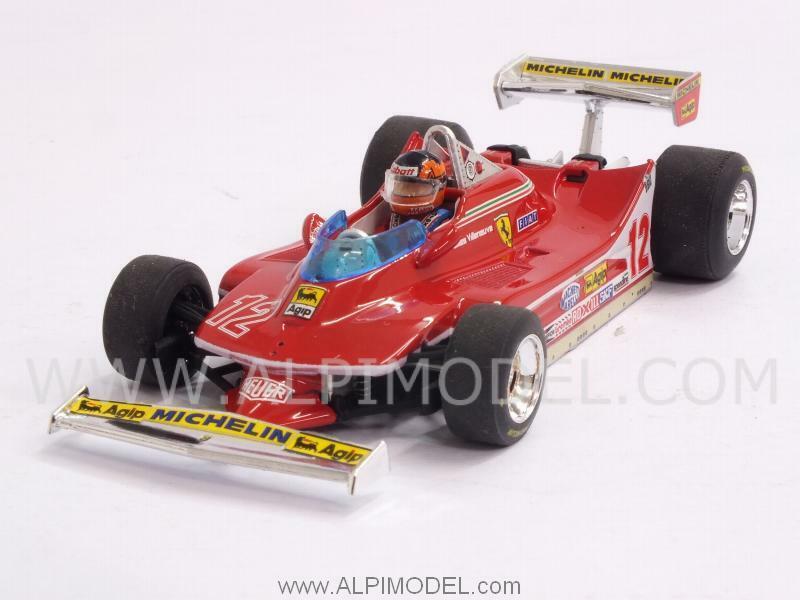 Ferrari 312 T4 Winner GP USA  West 1979 Gilles Villeneuve 1 43 BRUMM R578-CH  choix à bas prix