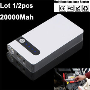 Details About Lot 12v Portable Car Jump Starter Booster Jumper Box Power Bank Battery Charger