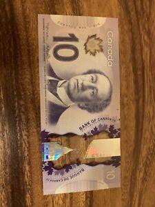 Canadian-10-Dollar-Bank-Note-Circulated-Canada-Good-Condition-Banknotes-Bill