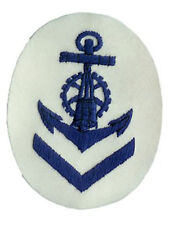 Kriegsmarine Blocking Weapons Senior NCO Trade Badge - WW2 Repro Patch Navy New