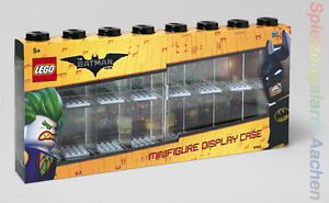 LEGO The Batman Movie Vitrine Minifiguren Schwarz 16 MINIFIGURE DISPLAY CASE
