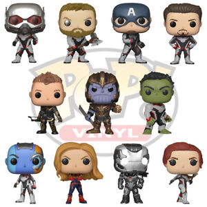 Avengers-Endgame-Official-Marvel-Comics-Thanos-Iron-Man-Funko-Pop-Vinyl-Figure