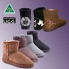 PREMIUM Hand-Made Australia Shearers UGG Mini Classic Short Sheepskin Wool Boots