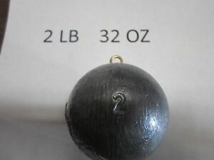 2-LB-32OZ-CANNONBALL-SINKER-YOUR-CHOICE-OF-QUANTITY-LOT