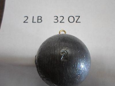 2 LB 32 OZ ROCK COD SINKER QUAN OF 5