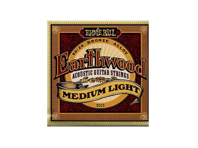 ERNIE BALL 2003 - Muta per Acustica Earthwood 80/20 Bronze Medium Light (012/054
