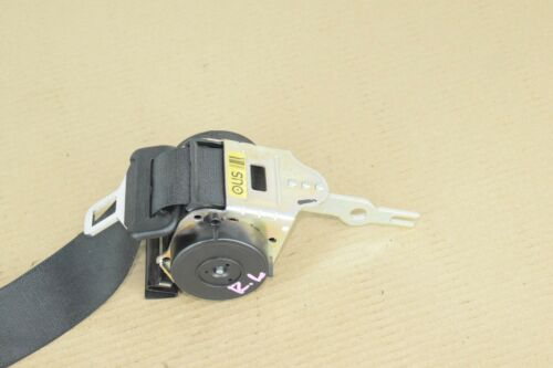 Details about  /BMW E46 REAR RIGHT PASSENGER OR LEFT DRIVER UPPER SEAT BELT BLACK RETRACTOR OEM
