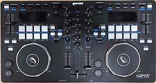 Gemini GMX Media Controller Virtual DJ Dual Pad 2-Channels Mixer USB MIDI PC MAC