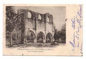 79-cpa-MENIGOUTE-Ancienne-abbaye-des-Chateliers-1961