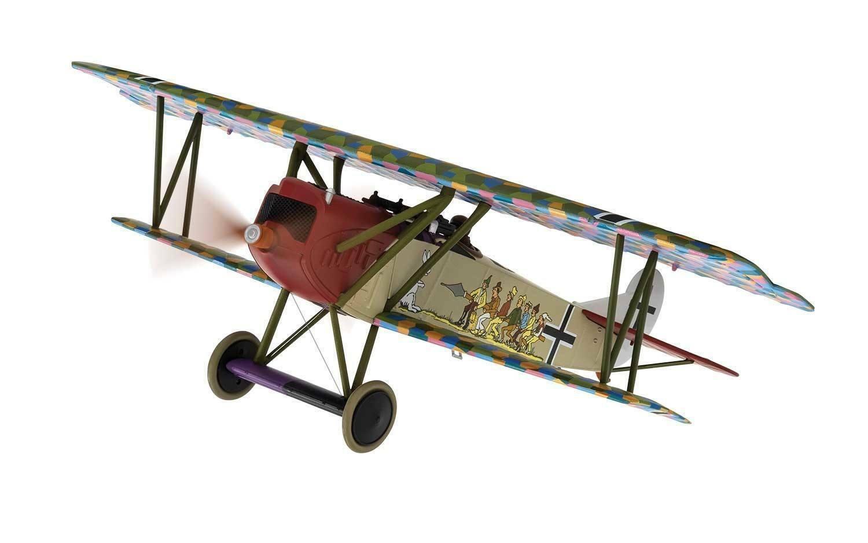 Corgi 1 48 German Fokker D VII Fighter -  Seven Swabians , 1918,  AA38906