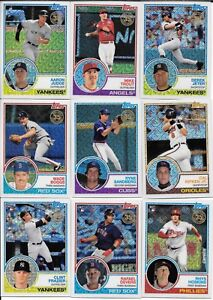 2018-Topps-Series-1-1983-CHROME-Silver-Pack-Complete-SET-50-Judge-Andujar-Rhys