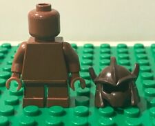 Lego AVIATOR Helmet with Goggles Minifigure Hat Accessory Reddish Brown NEW!
