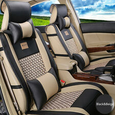 10pcs Set PU Leather Car Seat Cushion Cover For Ford Fusion,Focus,Fiesta,C-MAX