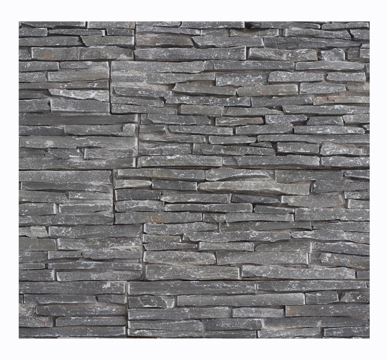 1 qm W-008 Stein-Wandverkleidung - Naturstein Fliesen Lager Stein-mosaik Herne