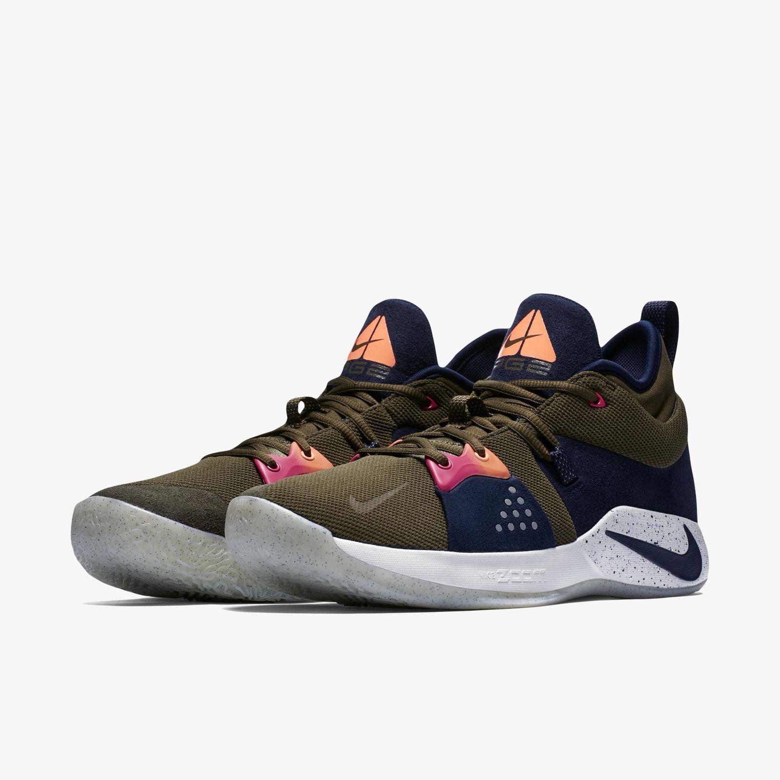 Nike pg 2 uomini scarpe da basket dimensioni: aj2039 11,5 olive tela ossidiana aj2039 dimensioni: 300 f83625