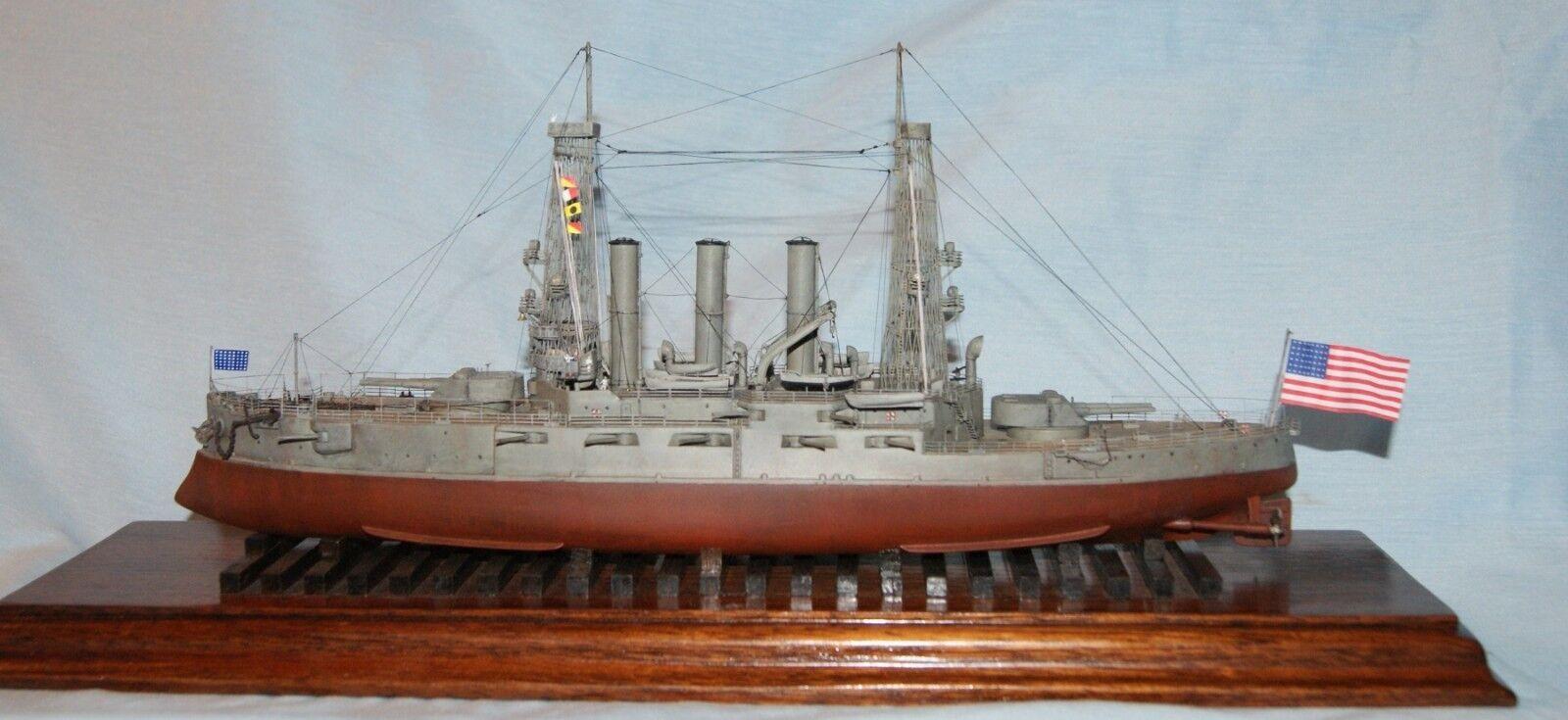 1 350 Iron Shipwrights 4191 U.S.S. Ohio  BB-12 1910  Resin & Brass Model Kit