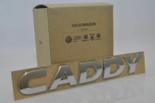 OEM VW Models New Genuine Emblem CADDY Rear Boot Badge Trunk