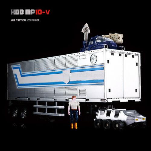 "KBB MP10V G1 Optimus Prime Autobot Transformer Container Metal Version 8/"" Figure"