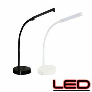 Dettagli su Lampada Da Tavolo a LED Flessibile USB Lampade Scrivania Ufficio Luce Naturale