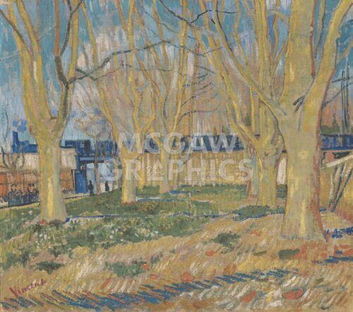"""vAN GOGH VINCENT THE BLUE TRAIN 1888 1623 ART PRINT POSTER 11/"""" X 14/"""""""