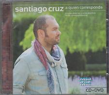 CD - Santiago Cruz NEW A Quien Corresponda CD/DVD - FAST SHIPPING !