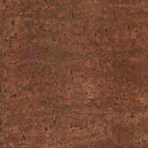 Wallpaper-High-End-Designer-Real-Natural-Cork-Wallcovering-Dark-Brown