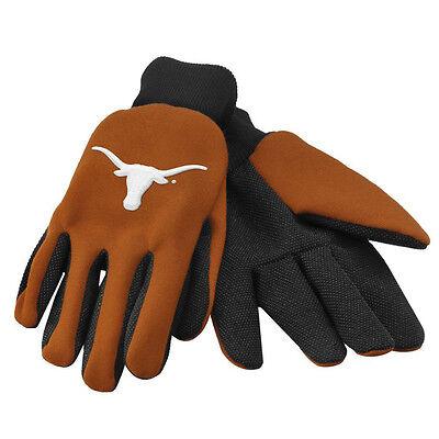 Frank Ncaa Texas Longhorns Nutzen Handschuhe Arbeit Einheitsgröße Gebrannte Orange Profitieren Sie Klein Baseball & Softball