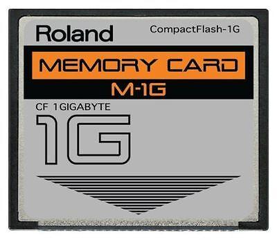 1GB Roland® CF Card for SP 404 SP404 Fantom Drive Upgrade 1 Gig GB Compactflash