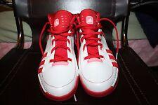 NBA PLAYER JERRYD BAYLESS SZ 13 ADIDAS WHITE RED PORTLAND TRAILBLAZERS PE SHOES