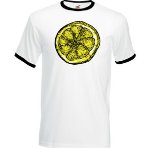 Stone-Roses-T-Shirt-Mens-Lemon-Adored-Unisex-Top-The