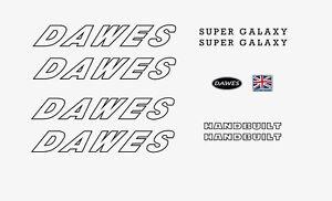 Stickers n.890 Dawes Galaxy Bicycle Decals