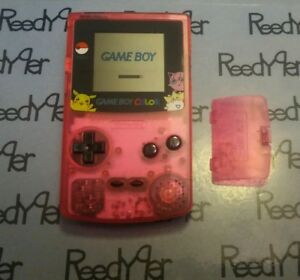 Gameboy-Color-Pokemon-Pikachu-Edition-Nintendo-System-Clear-Pink-Game-Boy-GBC