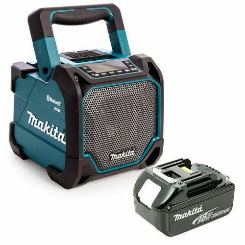 Makita DMR202 Bluetooth Speaker 18 V 1830 3.0aH Battery