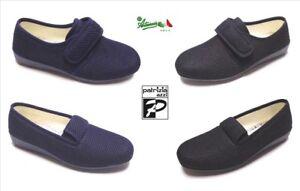 la vendita di scarpe stili classici metà fuori OFFERTA PATRIZIA AZZI Pantofole scarpe donna tessuto strappo ...