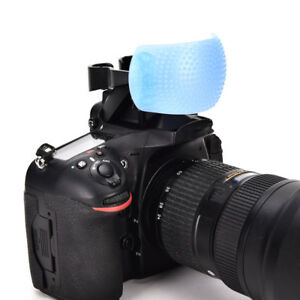3 Color 3 in 1 Pop-Up Flash Diffuser Cover Kit Softbox for Canon Nikon Pentax NA