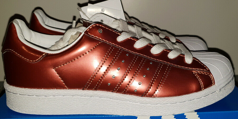 Adidas Superstar Boost metallic kupfer gr. 37 1 3 UK 4,5